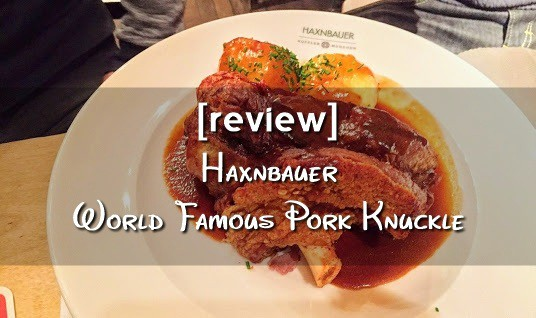 Review - Haxbauer Munich World Famous Pork Knuckle