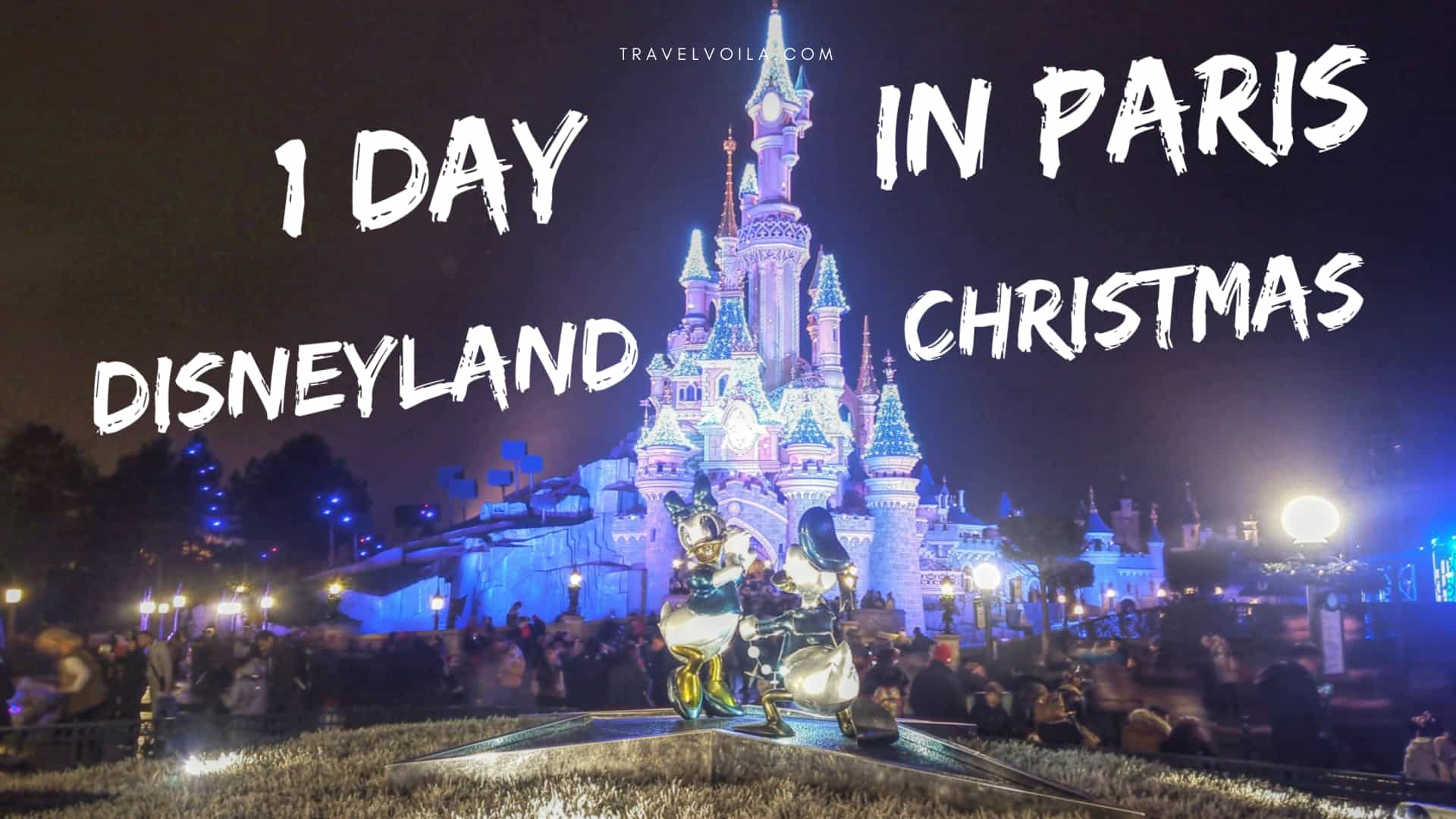Paris Disneyland Christmas
