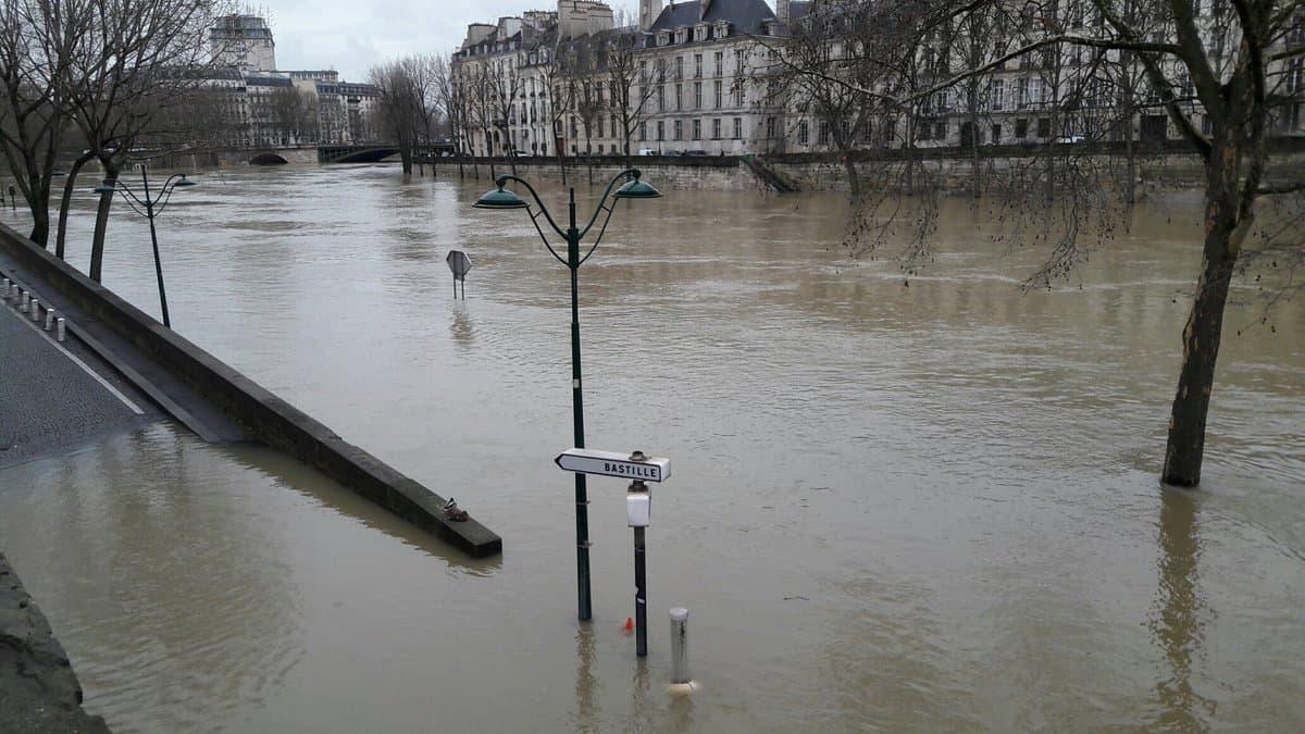 Paris Flood in Jan 2018