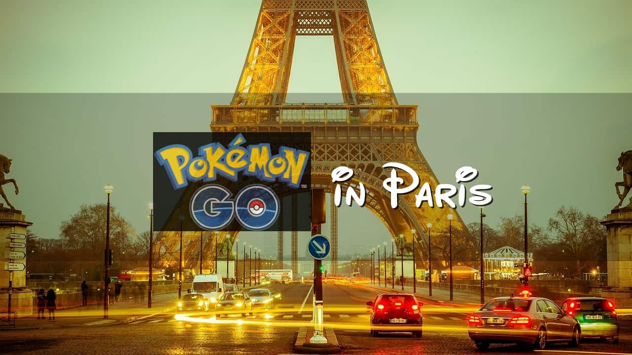 Pokemon Go in Paris